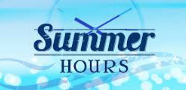 Municipal Offices Summer Hours