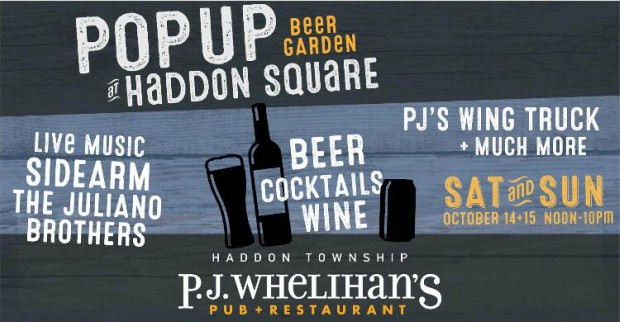Pop-Up Beer Garden at Haddon Square!