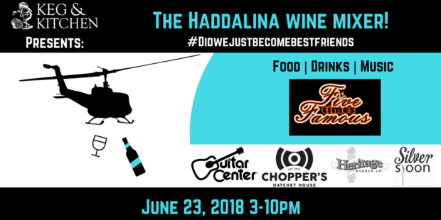 Haddalina Wine Mixer on the Square!