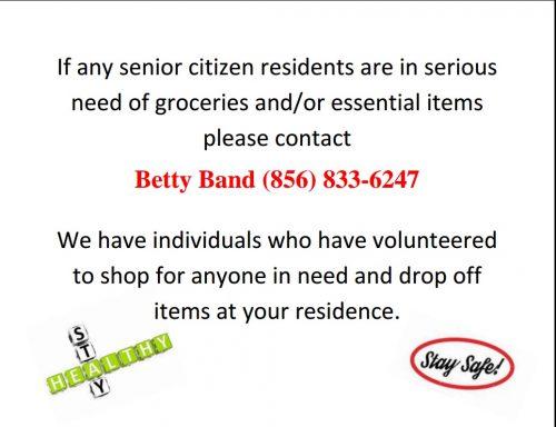 Assistance for Seniors
